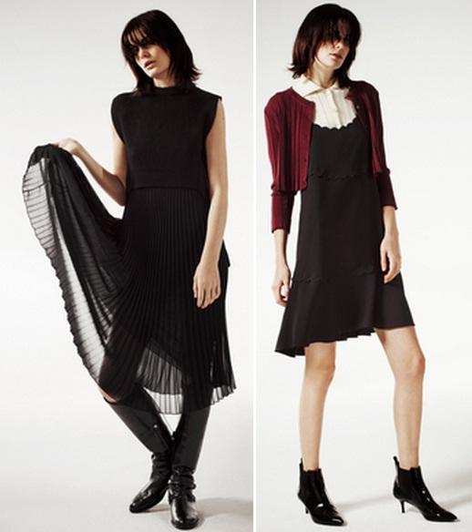 черные строгие платья фото