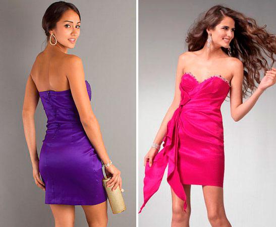 цвета клубных платьев