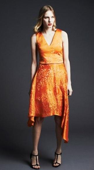 платье с принтом фото