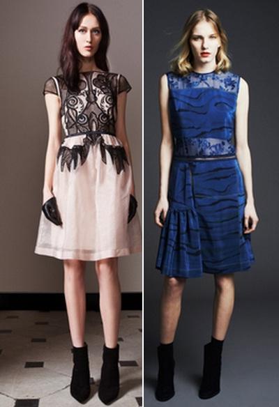 платья модные с принтом
