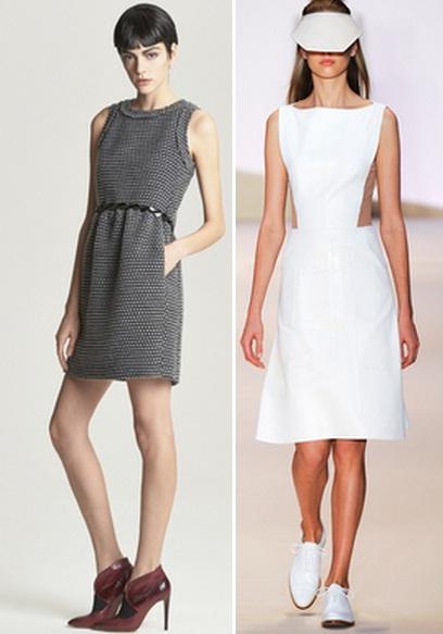 строгие платья 2014