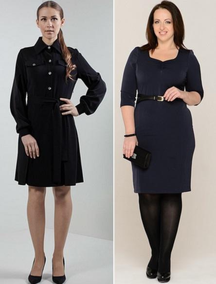 строгое платье для полных фото 2015