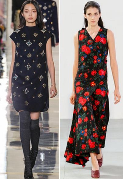 трикотажные платья с цветочным принтом