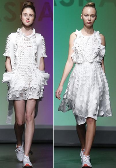 белое платье с белой обувью