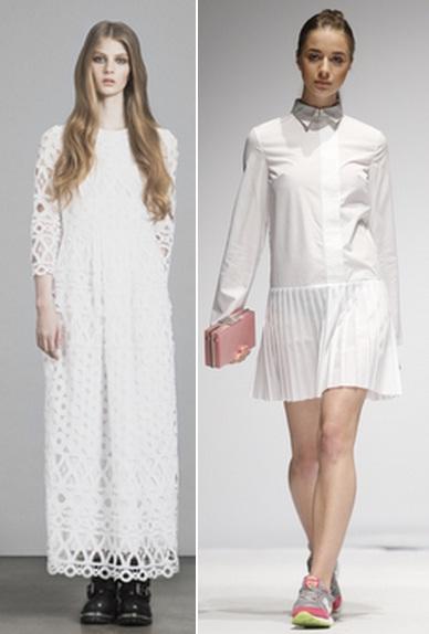 длинное белое платье как носить