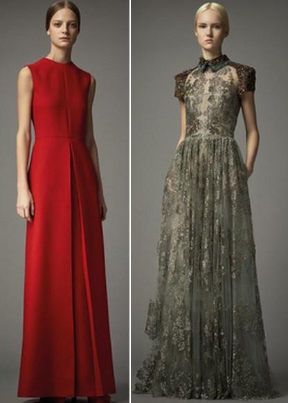 платья с закрытыми плечами фото