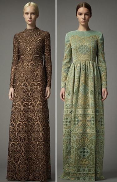 платья с закрытыми плечами