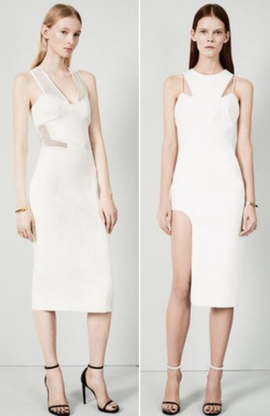 белое платье мода 2015