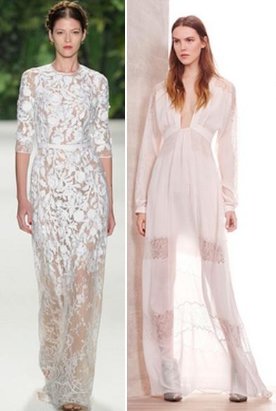 белое кружевное платье 2015