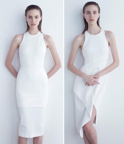 белое платье летнее 2015