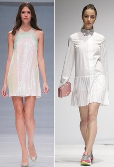 модные белые платья 2015