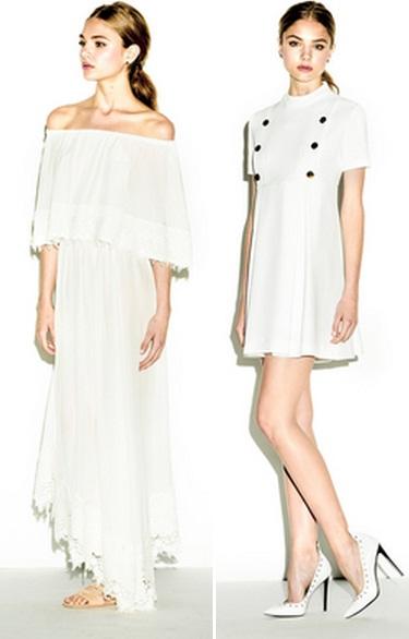 белые платья фото 2015