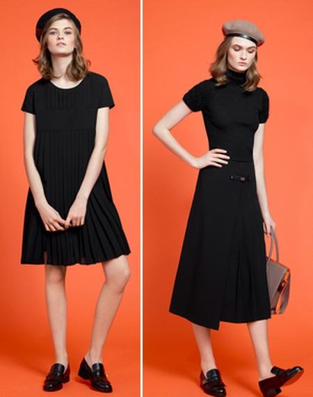 модные маленькие черные платья фото