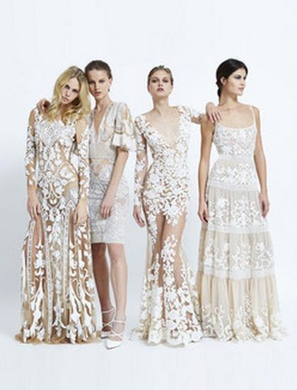модные платья с кружевом