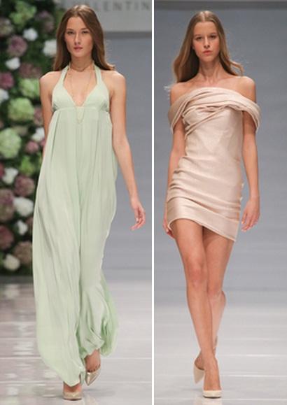 модные пастельные платья