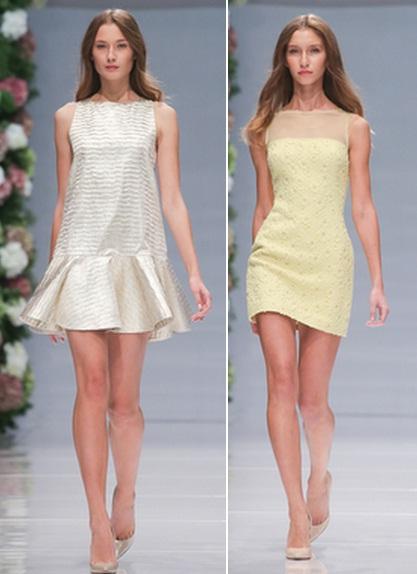 пастельные платья 2015