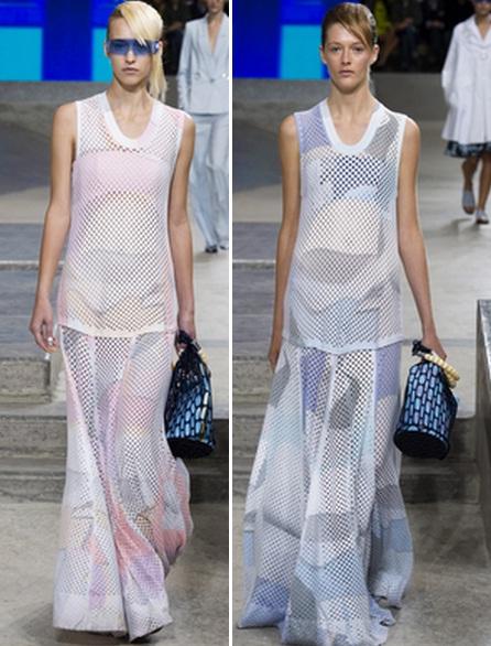 перфорированные платья фото