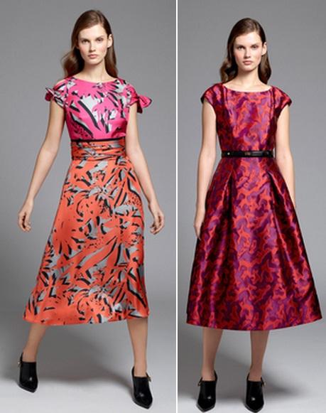 пышное яркое платье
