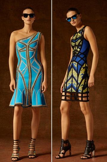 ярко синие платья
