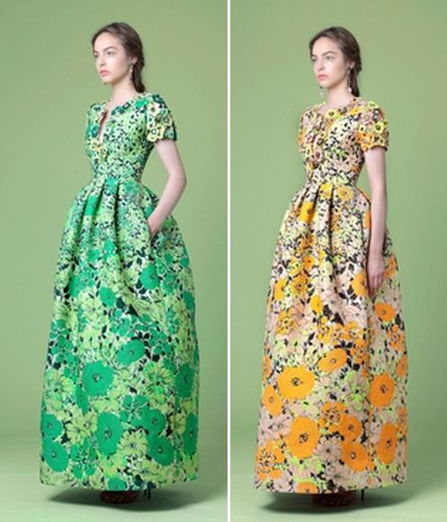 Модное летнее платье в пол