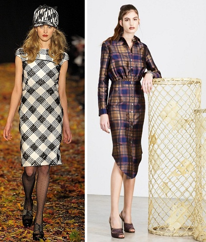 Теплые ткани на платье
