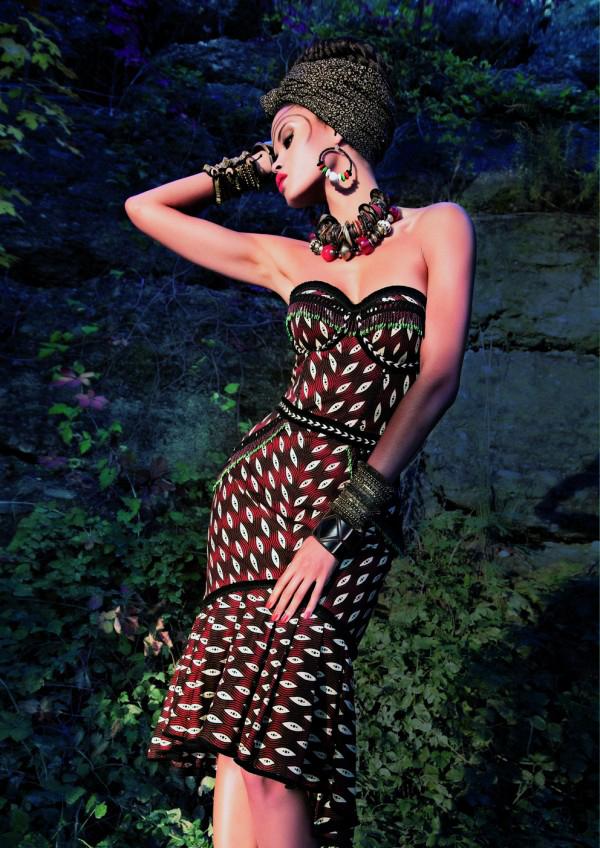 красные модные короткие вечерние платья