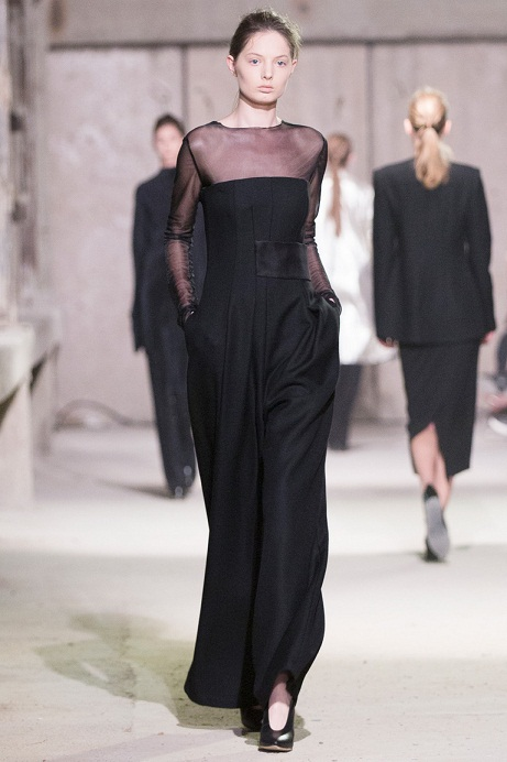 черное вечернее платье 2015 фото
