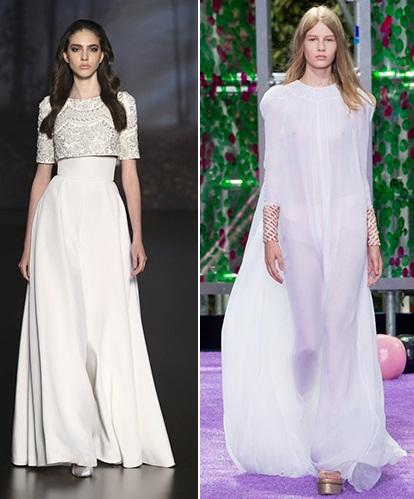 длинные белые платья 2016