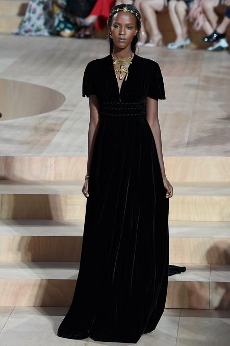 черное платье мода 2016 фото