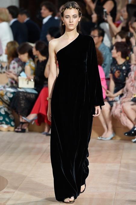 черные бархатные платья 2016