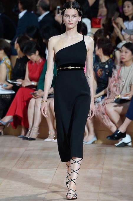 черное платье мода 2016