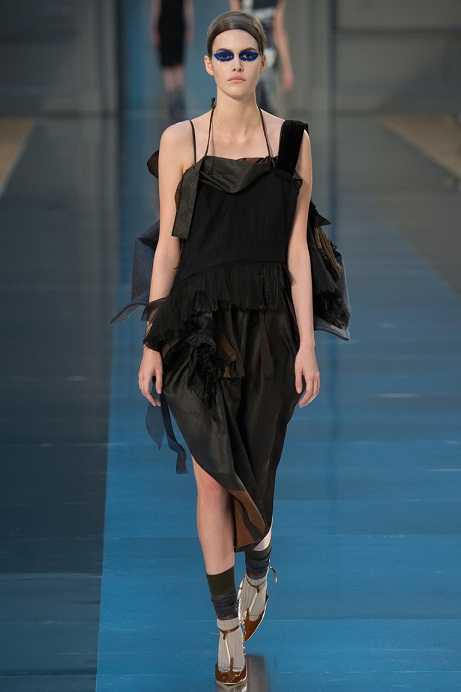 черные длинные платья 2016