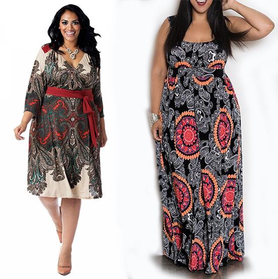 Платья с орнаментом