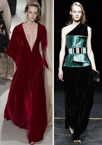 Фасоны гофрированных платьев