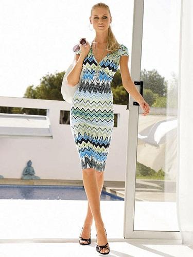 Платья летние трикотаж фото