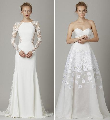 Свадебное платье футляр 2017