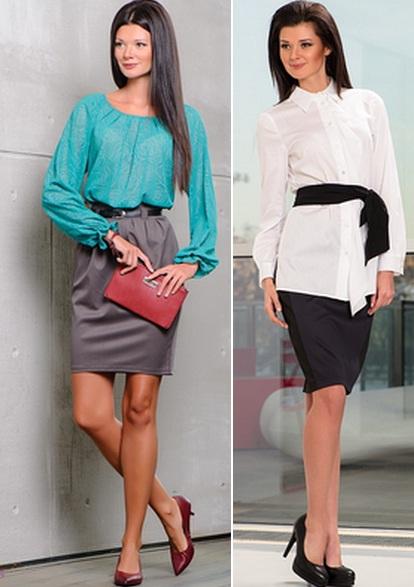 Вечерние блузы и юбки