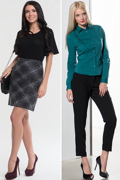 Блузки юбки для учителей