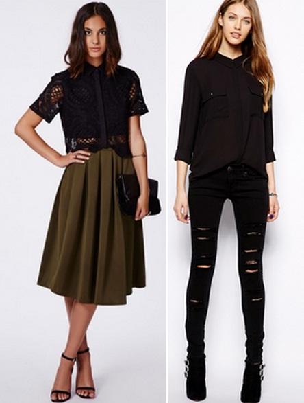 Что Одеть С Черной Блузкой В Уфе