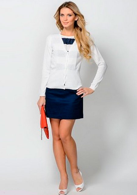 Блузки Которых Можно Одевать С Юбкой