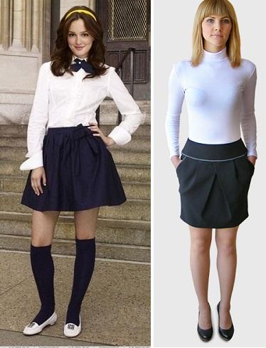 Какие юбки сейчас модные в школу