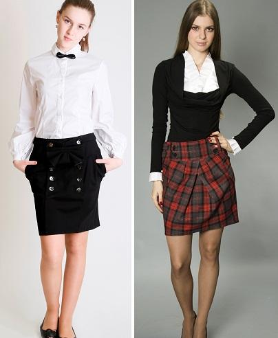 Школьные юбки новинки