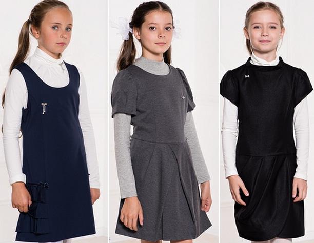 Модные юбки и блузки к школе
