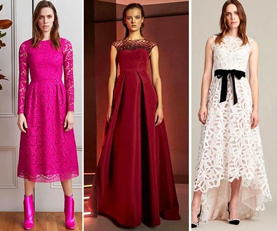 Где появились платья