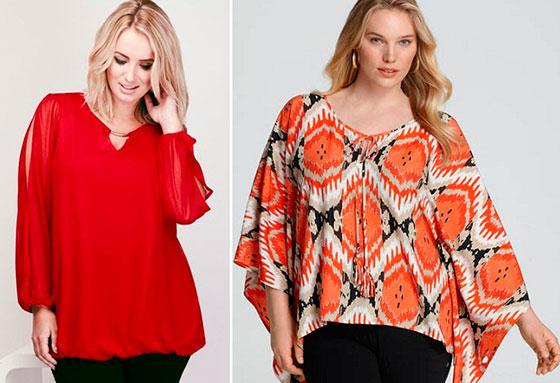Модные Блузки 2015 Для Полных