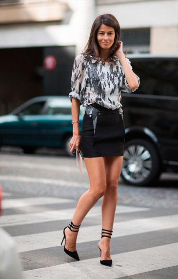 Картинки с чем носить короткие юбки