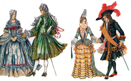 барокко в одежде фото стиль