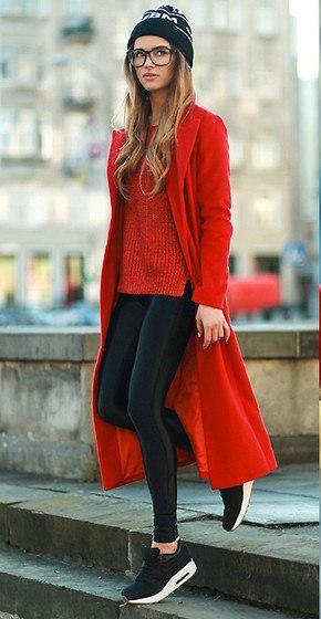 красное с черным в одежде