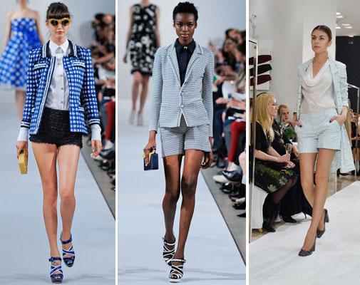 Костюмы с шортами женские