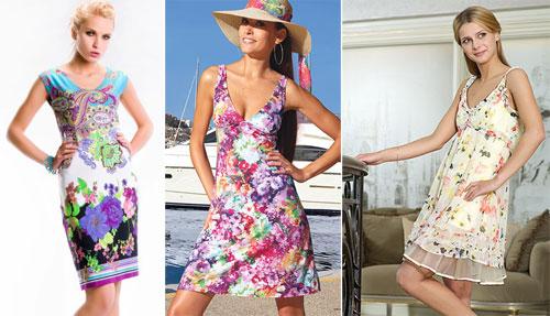 летние сарафаны и платья фото